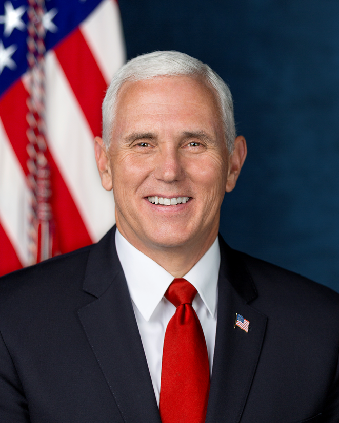 Vice-President of the Untied States Michael Pence